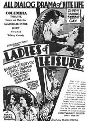 Ladies of Leisure 1930 DVD - Barbara Stanwyck / Ralph Graves